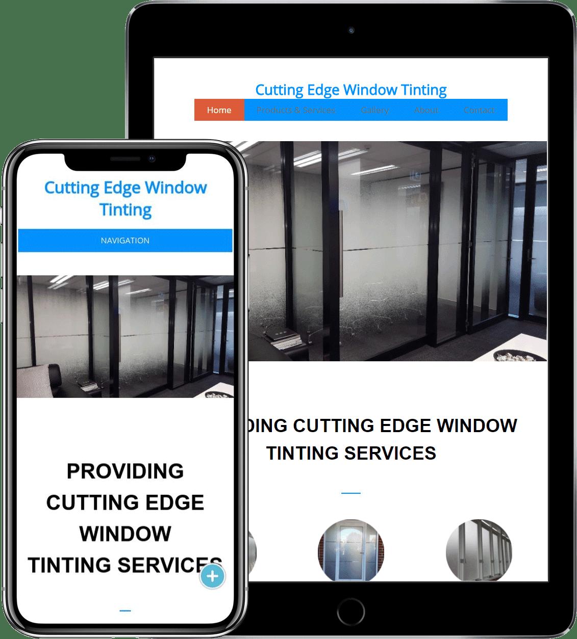 Window Tinting Installation